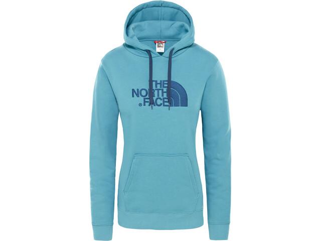 The North Face Drew Peak Pullover Hoodie Damen storm blue